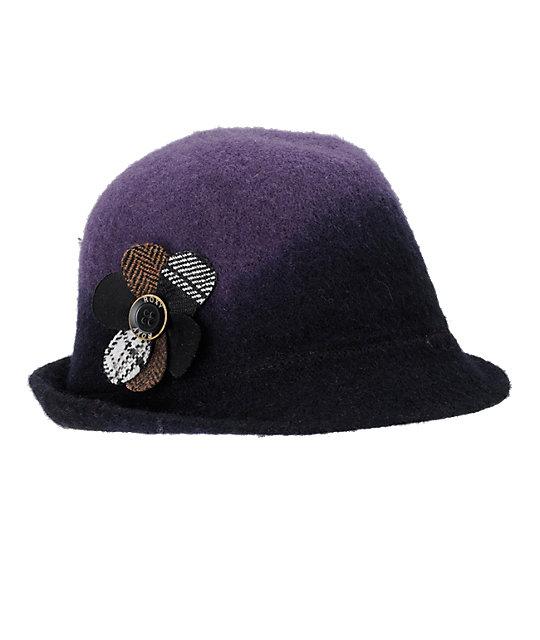 Roxy Headstrong Purple Fedora