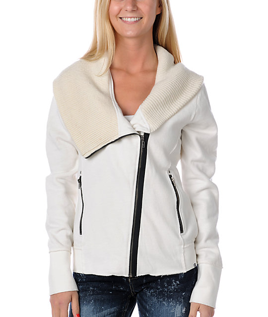 Roxy Hit The Road White Jacket