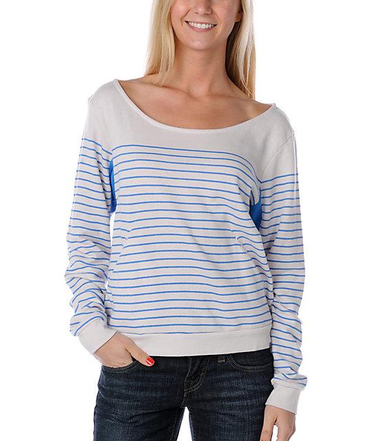 Roxy Isla Bonita Blue Sweatshirt