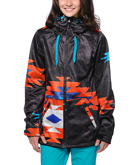 Roxy La Fonda 10K Softshell Snowboard Jacket