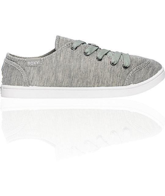 Roxy Newport Cruisers Heather Grey Shoes