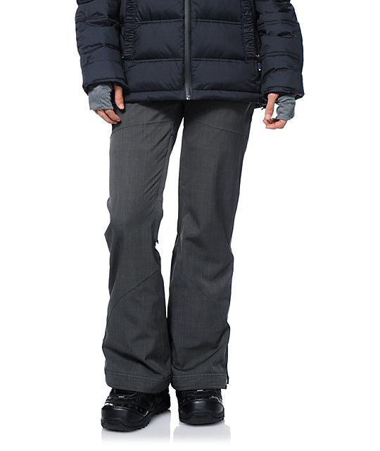 Roxy Spring Break Grey 10K Snowboard Pants
