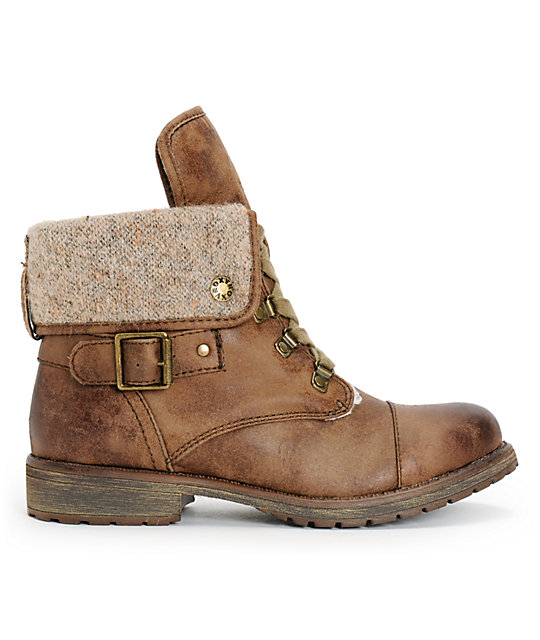 Roxy Thompson Brown Boot