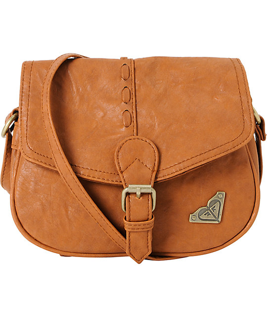 Roxy Wilderness Bark Brown Purse