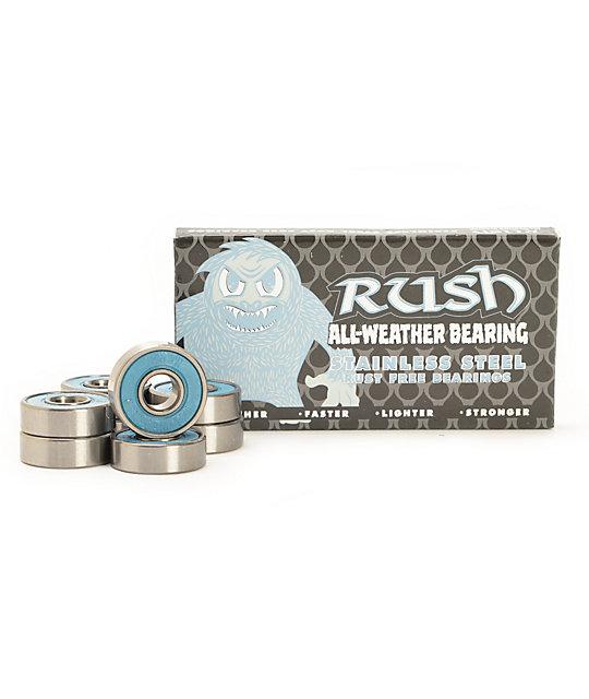 Rush All Weather Skateboard Bearings