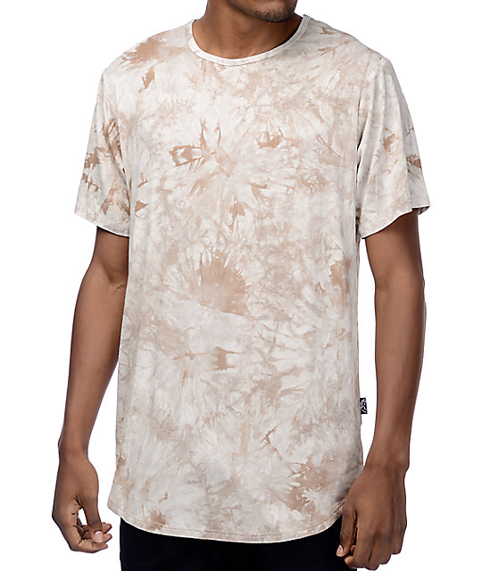 Rustic Dime Sand Crystal Tie Dye T-Shirt