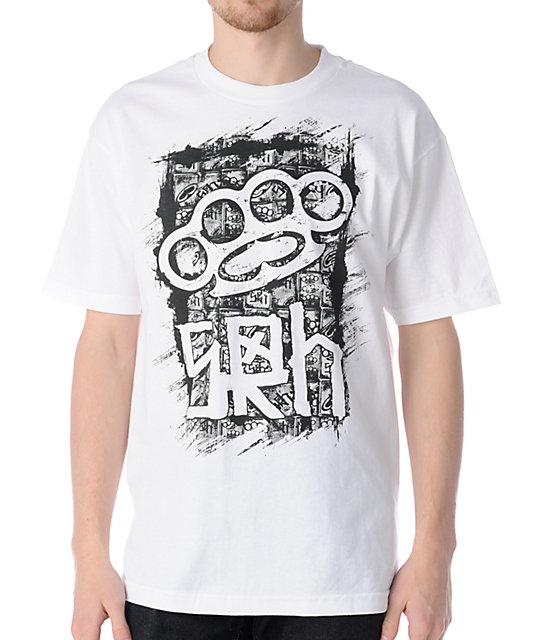 SRH Brass Reality White T-Shirt