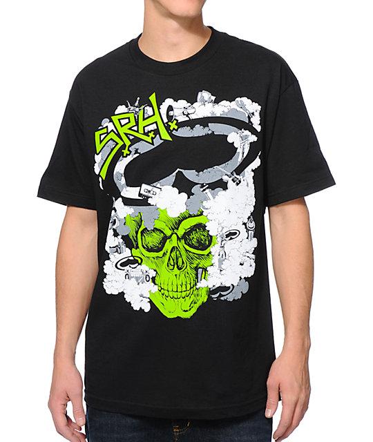 SRH Cloud Of Smoke Black T-Shirt