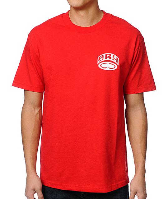 SRH Clutch Red Mens T-Shirt