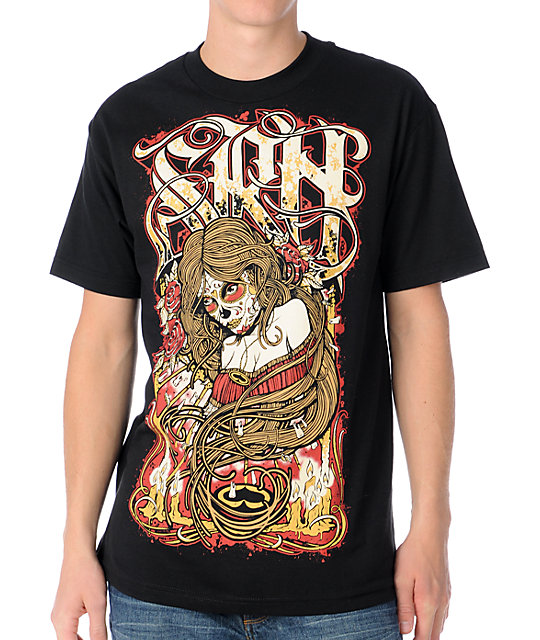 SRH Day Of The Dead Black T-Shirt