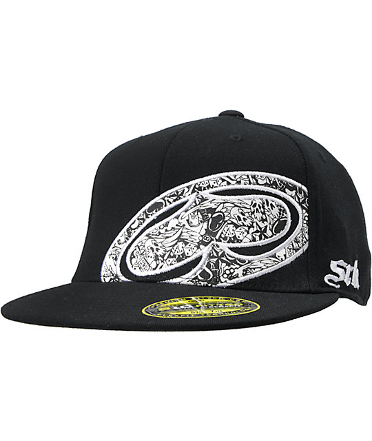 SRH Destructive Behavior Black Fitted Hat