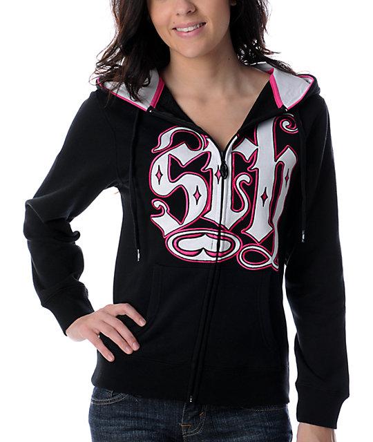 SRH Logo Mojo Black Hoodie