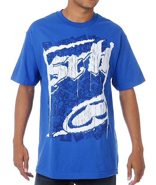 SRH Scraps Blue T-Shirt