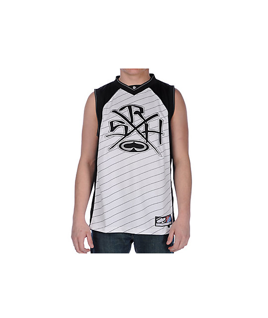 SRH Six In One Black & White Tank Top