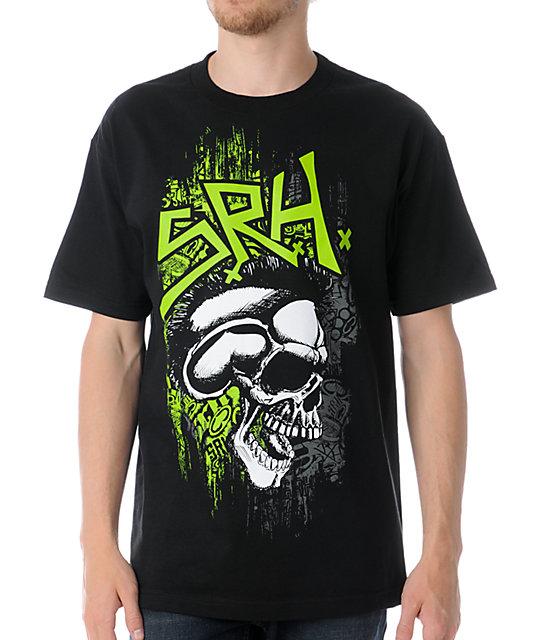 SRH Skull Spade Black T-Shirt