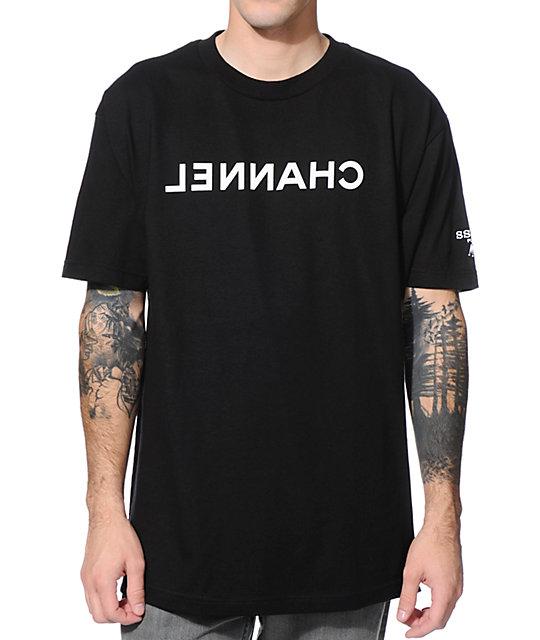 SSUR Channel Black T-Shirt