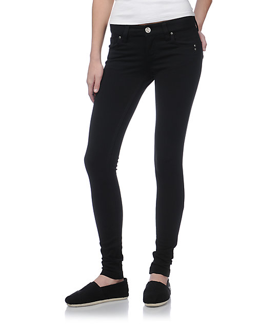 STS Blue Black Jeggings