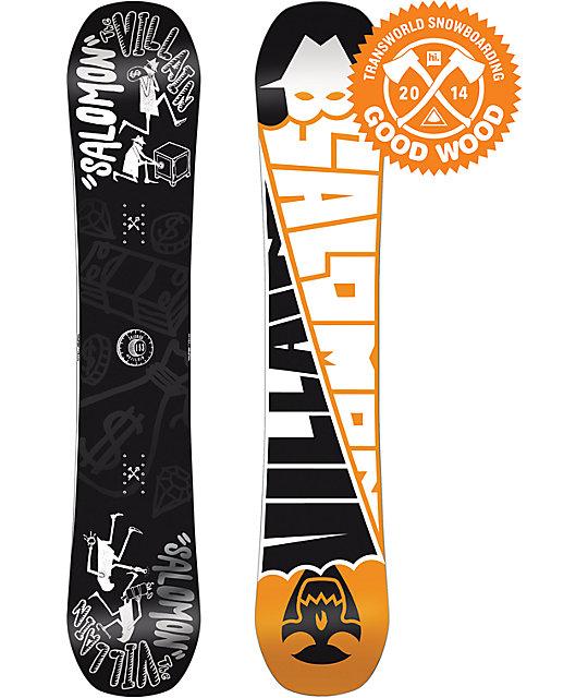 Salomon The Villain 155cm Wide Snowboard