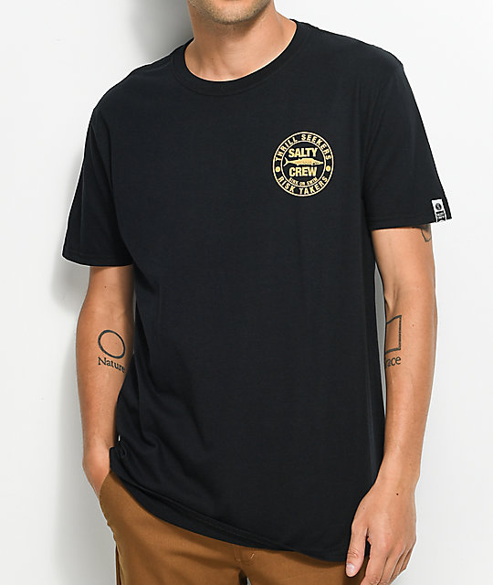 Salty Crew Ono Black T-Shirt