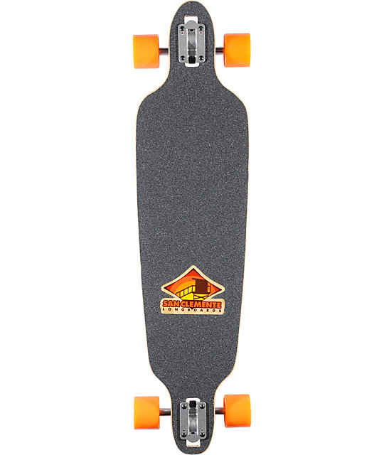 "San Clemente Everything Drains Turtle 39""  Longboard Complete"