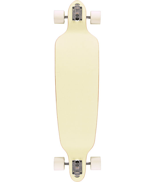 "San Clemente Glow In The Dark 39.75""  Drop Through Longboard Complete"