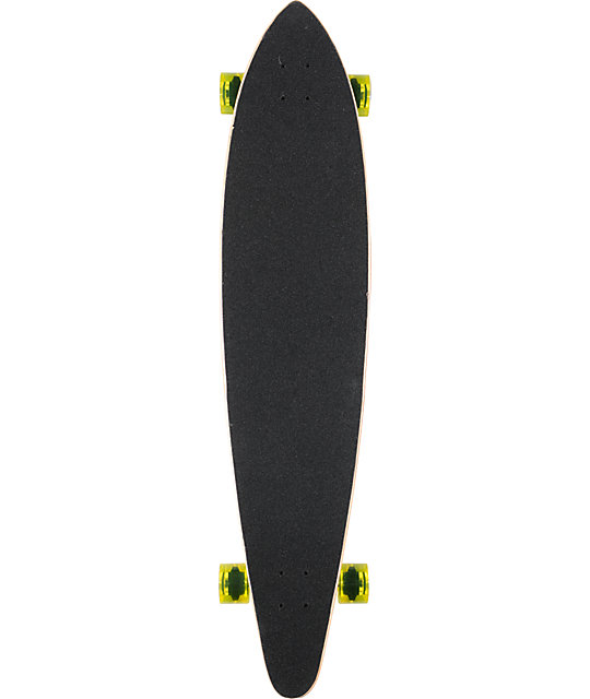"San Clemente Green Room 46""  Pin Tail Longboard Complete"