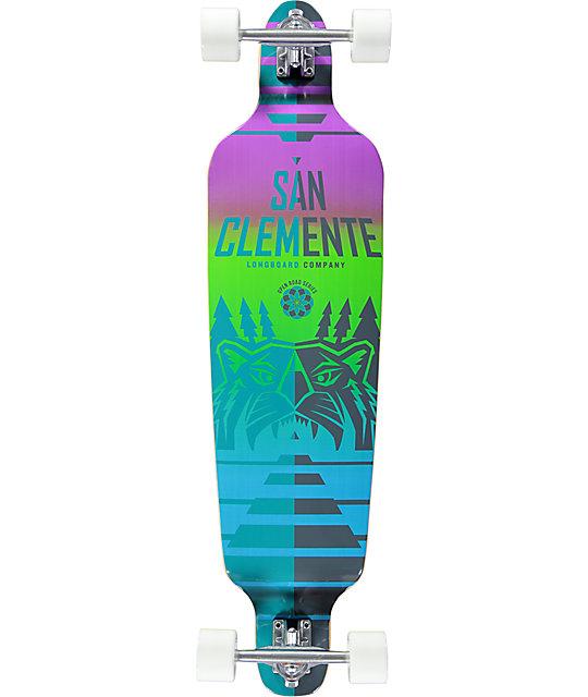 "San Clemente Mountain Prowler 40.75""  Drop-Down Longboard Complete"