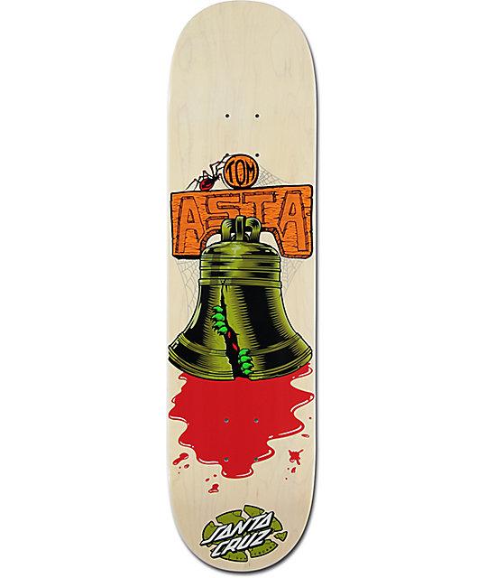 "Santa Cruz Asta Bell 8.0"" Skateboard Deck"