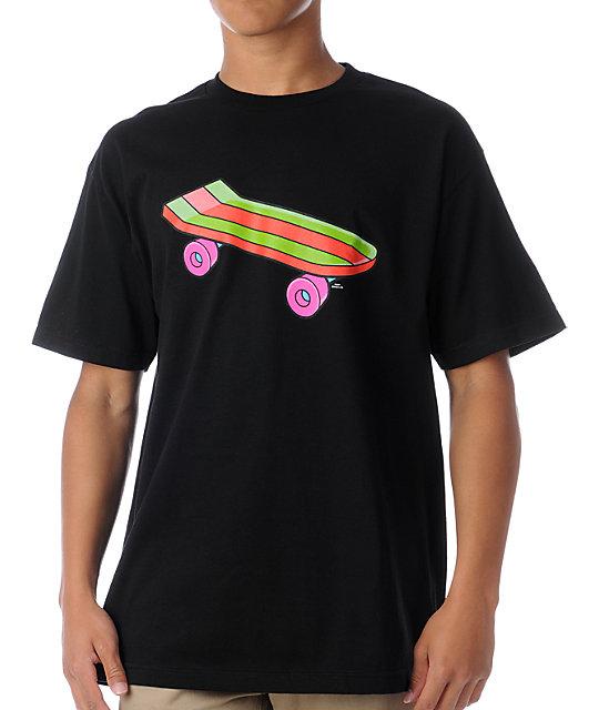 Santa Cruz Bart Pro Model Black T-Shirt