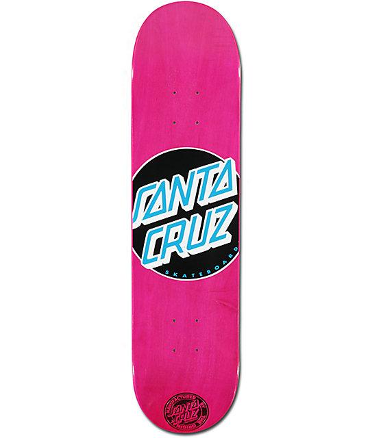 Santa Cruz Classic Dot Pink 7.7