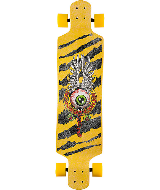 "Santa Cruz Flying Eye 40""  Drop Down Longboard Complete"