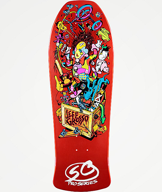 "Santa Cruz Grosso Toy Box Re-Issue 10"" Skateboard Deck"