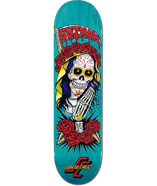 """Santa Cruz Guzman Muerte Bae 8.2"""" Skateboard Deck"""