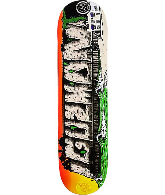 """Santa Cruz Guzman Venetian 8.0""""  Skateboard Deck"""