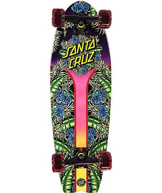"""Santa Cruz Island Sunset Land Shark 27.7"""" Cruiser Complete Skateboard"""