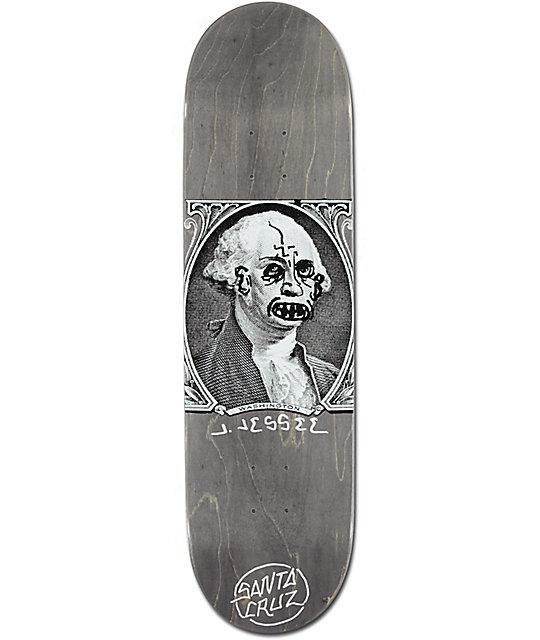"Santa Cruz Jessee Boner Dollar 8.5""  Skateboard Deck"