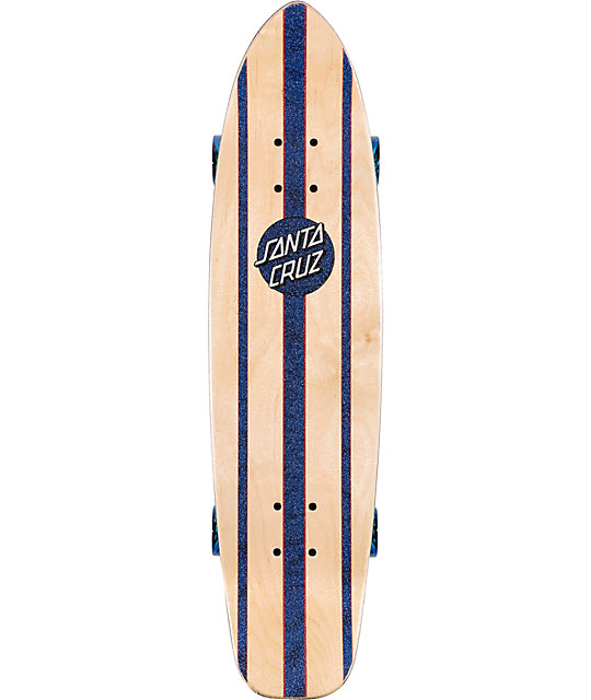 "Santa Cruz Mini Haka 31.1""  Cruiser Skateboard"
