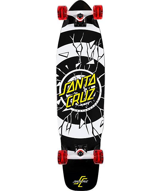 "Santa Cruz Rob Dot 9.3""  Complete Longboard"