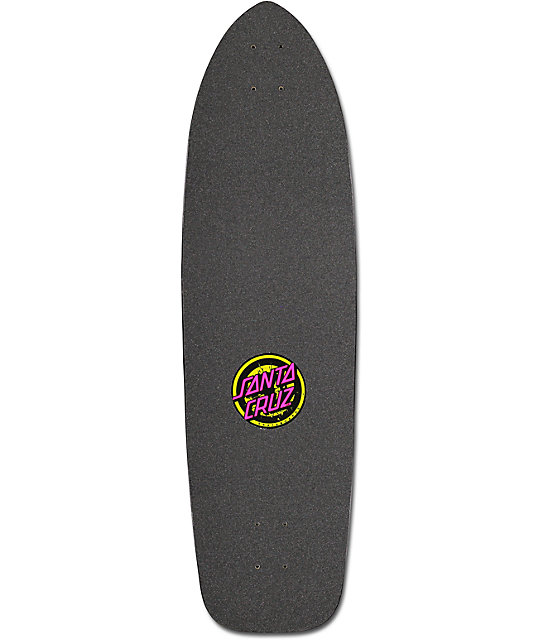 "Santa Cruz Rob Face 2 37""  Cruiser Skateboard Deck"