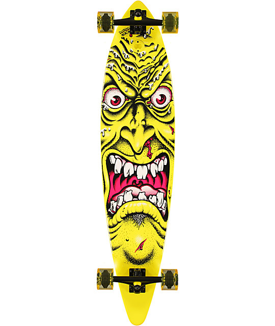 "Santa Cruz Rob Face 43""  Pin Tail Longboard"