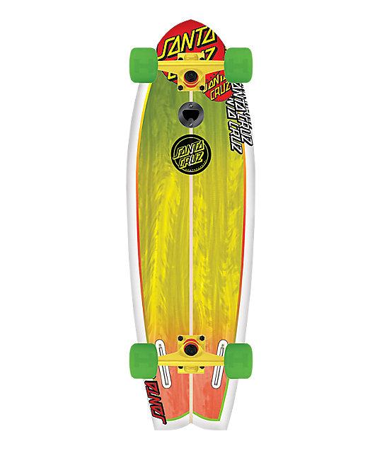 """Santa Cruz Skate Landshark 27""""  Cruiser Skateboard"""