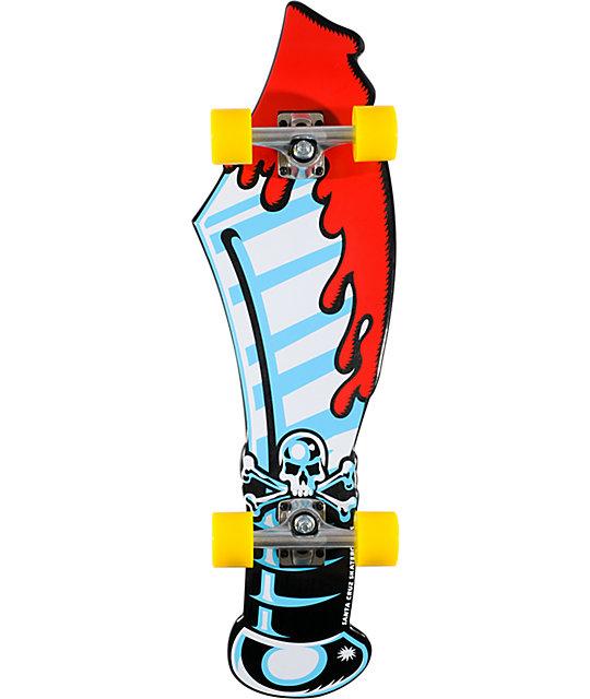 "Santa Cruz Slasher Sword 32.5""  Cruiser Complete"
