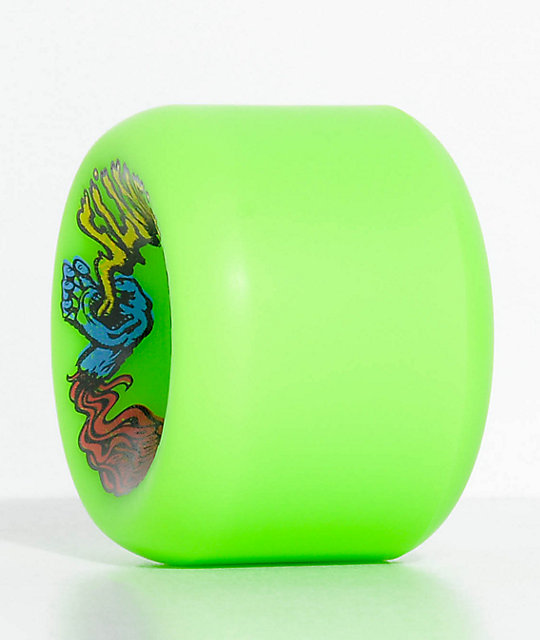 Santa Cruz Slime Balls Vomits 60mm Green Cruiser Wheels