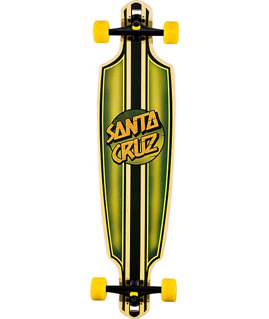 "Santa Cruz Squire Bamboo 37""  Longboard Complete"