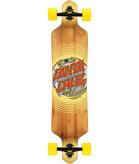 "Santa Cruz Trip Dot 41""  Bamboo Slalom Longboard"