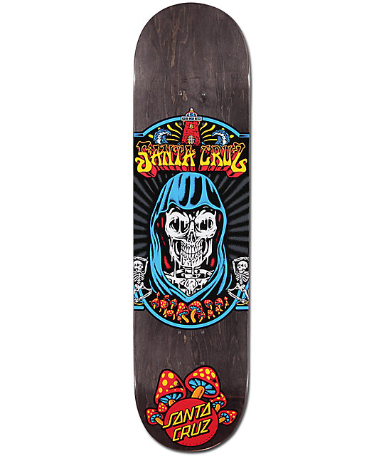 "Santa Cruz Trippin Team 8.125"" Skateboard Deck"