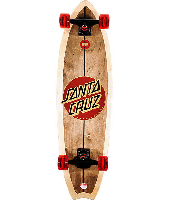 "Santa Cruz Woody Shark 10"" .0 Complete Longboard"