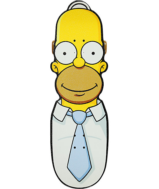 "Santa Cruz X Simpsons Homer 31.2""  Cruiser Complete Skateboard"