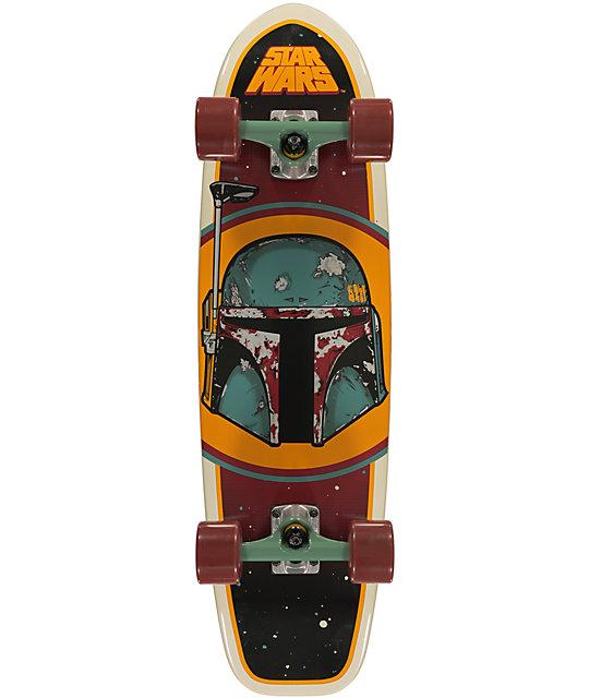 "Santa Cruz x Star Wars Boba Fett 31""  Cruiser Complete Skateboard"
