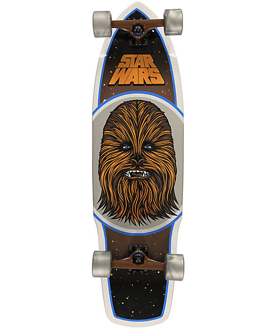 "Santa Cruz x Star Wars Chewbacca 35""  Cruiser Complete Skateboard"